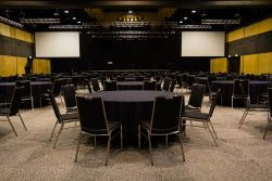 Plenary Halls A & B Banquet Style
