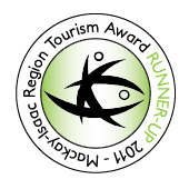 Mackay-Isaac Region Tourism Award Runner Up 2011