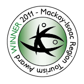 Mackay-Isaac Region Tourism Award Winner 2011