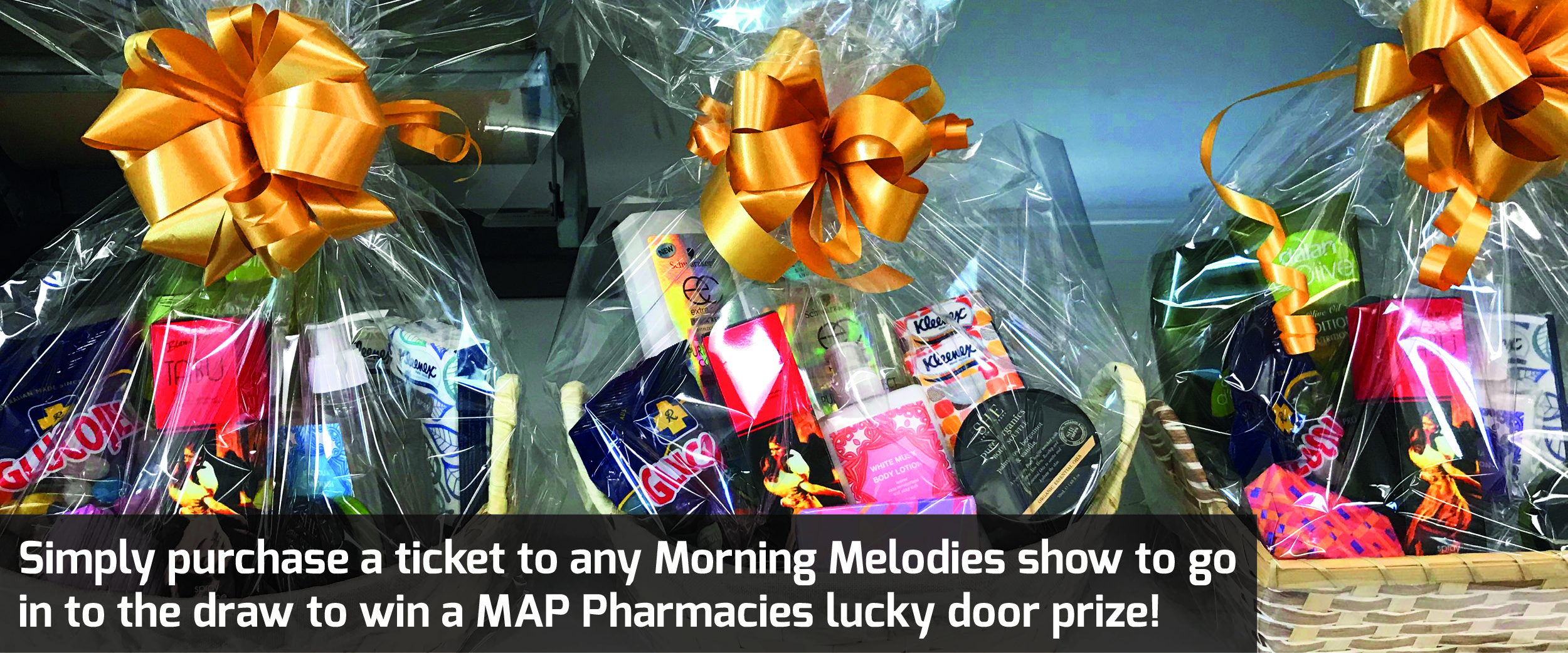 Morning Melodies Lucky Door Prize
