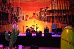 Hall A & Hall B   Stage & Backdrop